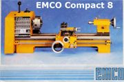 Emco Compact8 Bullcraft MD105 Drehmaschine