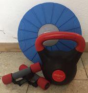 Kettleball 8 kg zwei Hanteln