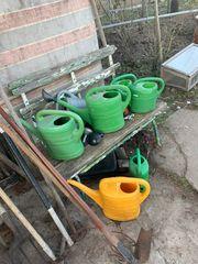 gartenwerkzeuge Garten Hacke Schaufel Gießkanne