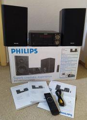 DVD-Komponenten-Microsystem Kompaktanlage Philips MCD712 12
