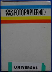 ORWO Fotopapier BW 1 100