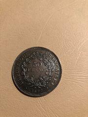 50Francs 1877-1977 Sammlermünze