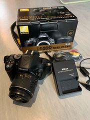 Nikon D5200 18-55 VR II