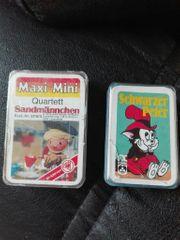 Maxi - Mini Quartett Sandmännchen schwarzer