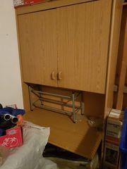 Schreibtisch Keller Regal Schrank