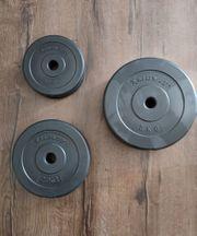 Hantelgewichte 2x 5 00 kg