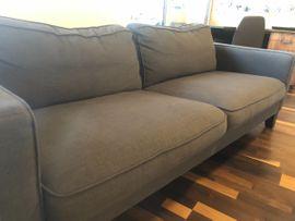 Graue Couch/ Sofa
