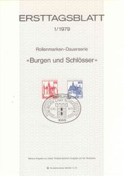 Ersttagsblätter 19794-1981 Berlin Bundesrepublik Deutschland
