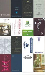Hotelkarte - Keycard - Schlüsselkarte Sammlung