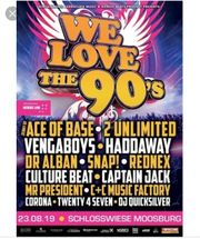 Tickets 90er Party