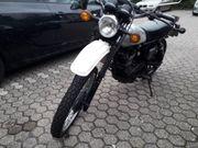 Yamaha XT 500 mit Alu
