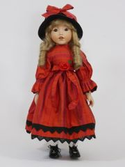 10 Stück Künstler-Puppen Deko-Puppen