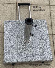 Sonnenschirmständer 40 kg Granit eckig
