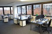 Köln - Büroraum Schreibtische Laptop-Arbeitsplätze Domiziladressen -
