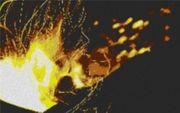 Vorlage für Ministeck Flamme 100x60cm