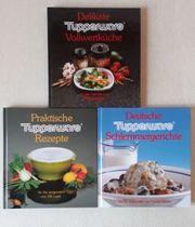 Koch- und Backbücher von Tupperware