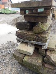 Sandsteinplatten Sandsteintreppe