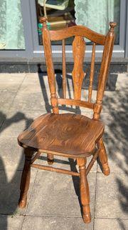 Esszimmer Stühle aus Massivholz Antik