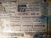 Pforzheim 1911 Zeitungsausschnitte Originale