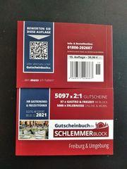 Gutscheinbuch Schlemmerblock 2021 Freiburg und