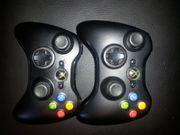 2x Controller XBox 360 schwarz