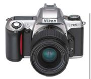 Nikon F-65 analoge Spiegelreflexkamera