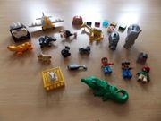 Lego Duplo Tiere mit Flugzeug