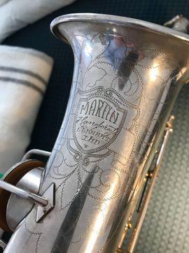 Vintage Altsaxophon Martin: Kleinanzeigen aus Rieseby - Rubrik Blasinstrumente