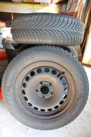 Ohne Reifen 4 Stahlfegen orig