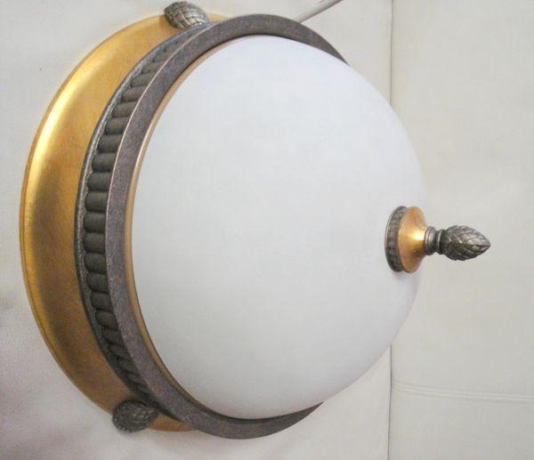 Seltene ALTE Original Augsburger Zirbel