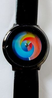 Neue originelle Design-Marken-Armbanduhr mit Lederarmband