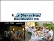 Le Diner en blanc Ein