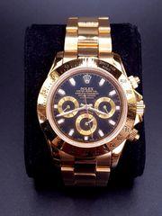 Hochwertig aussehende Herrenuhr Uhr goldfarben