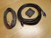 HDMI Kabel - USB-Verlängerungskabel - Adapter AV
