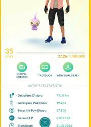 Pokemon Go Account LvL 35