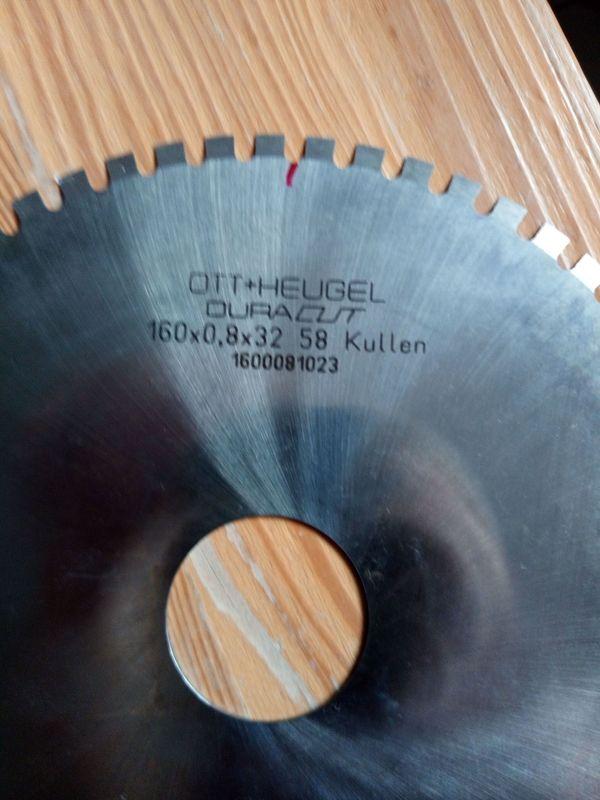 Kreismesser Kreissägeblatt aus Vollhartmetal von
