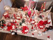 Weihnachtsdeko gemischt ca 55 Teile