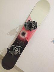 Snowboard mit Bindung Oxygen Fascination
