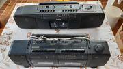 Kassettenradios zu verschenken