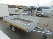 PKW Anhänger Hochlader Tieffahrwerk 1350kg