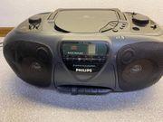 Philips Radio-CD-Kassetten-Recorder u a