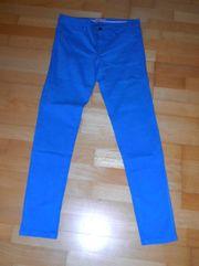 NEUE leuchtend blaue Hose von