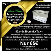 Nagerterrarium 80x40x50cm Terrariumbau