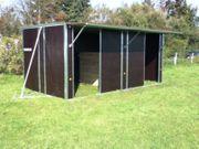 Fahrbare-Weidehütte 2 9mx6m -NEU-Weidehuette-Pferde-WeidehuettevD