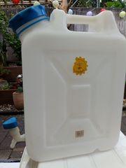 Trinkwasserkanister mit Hahn