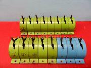 Modelleisenbahn - Trix - 3 x blaue