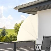 Balkonfächer Wandklappschirm