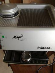 Espressomaschine saeco magic mit integriert