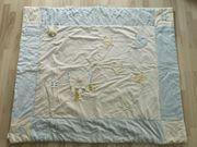 Krabbeldecke 135x115 cm in hellblau