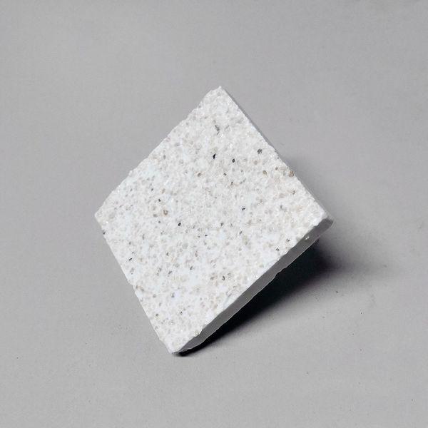 25 Ablegersteine Fragplugs Plugs Meerwasser 4, 4x4, 4 cm Vierkant weiß